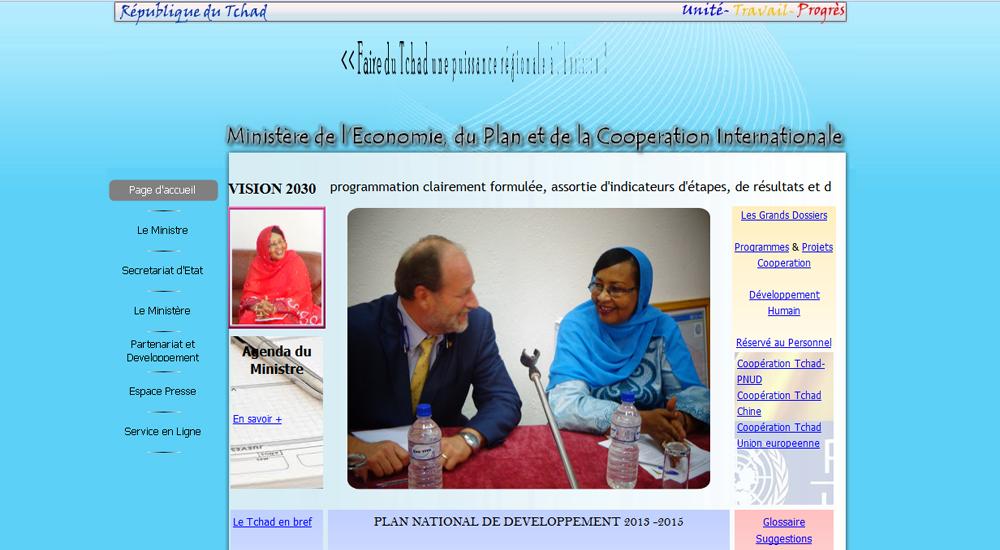 Ministère de l'Economie du Plan et de la Coopération Internationale